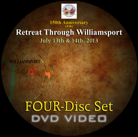 The Retreat Through Williamsport DVD Disc Set