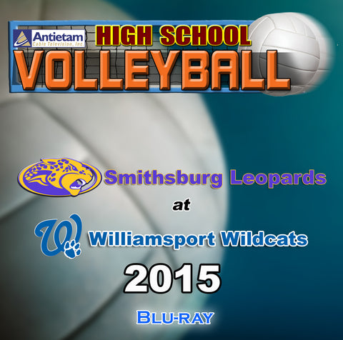 High School Volleyball-Smithsburg at Williamsport (2015) BLU-RAY