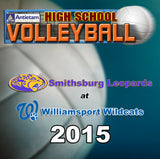 High School Volleyball-Smithsburg at Williamsport (2015)