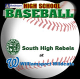 High School Baseball-South High at Williamsport (2004)