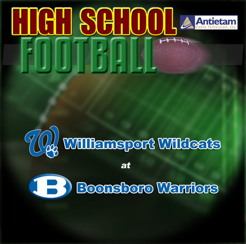 2013 High School Football-Williamsport at Boonsboro