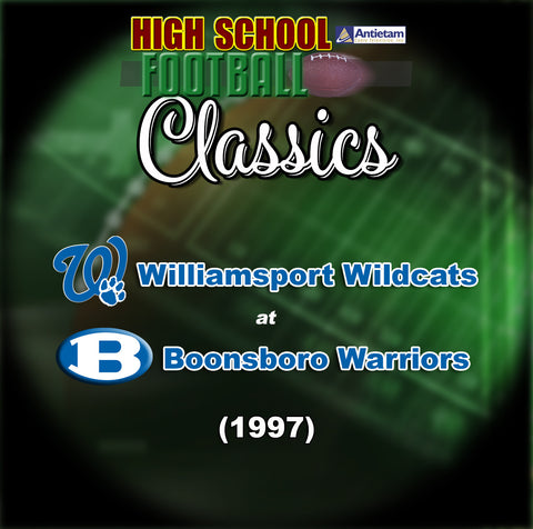1997 High School Football-Williamsport at Boonsboro