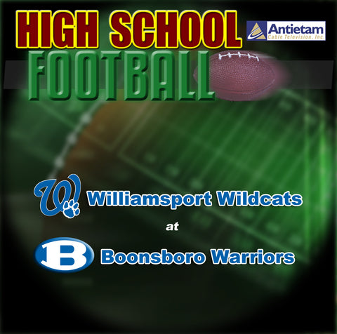 2010 High School Football-Williamsport at Boonsboro