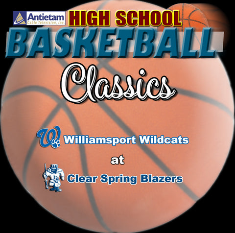 2009 High School Basketball-Williamsport at Clear Spring (Boys)