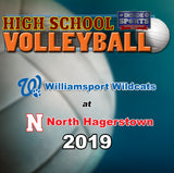 High School Volleyball- Williamsport at North Hagerstown (2019)- DVD