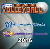 High School Volleyball- Williamsport at Smithsburg (2016) DVD