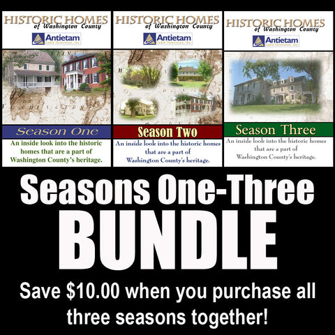 Historic Homes of Washington County: Seasons 1-3 Bundle