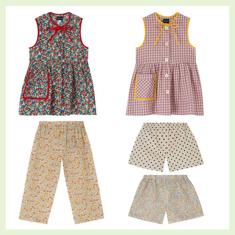 Childrenswear Made in England by Makers HQ + Luna & Curious