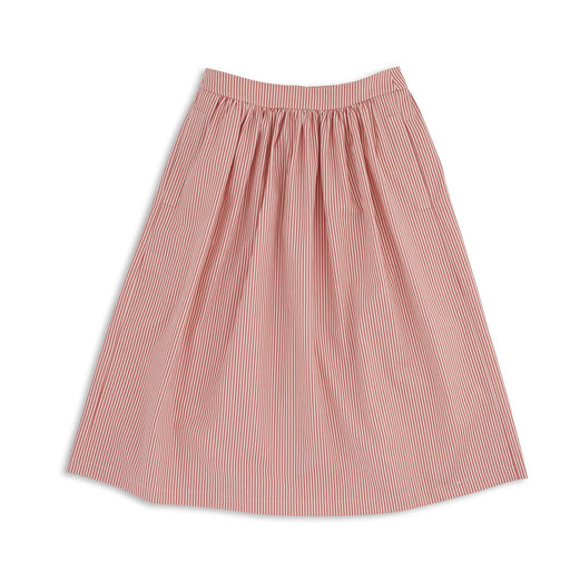 Pink Stripy Skirt