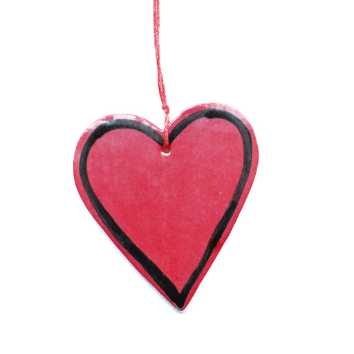 Heart Ceramic Decoration