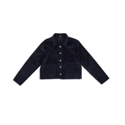 Dark Navy Corduroy Jacket