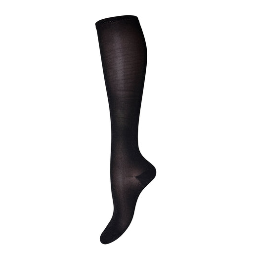Black Glitter Knee High Socks