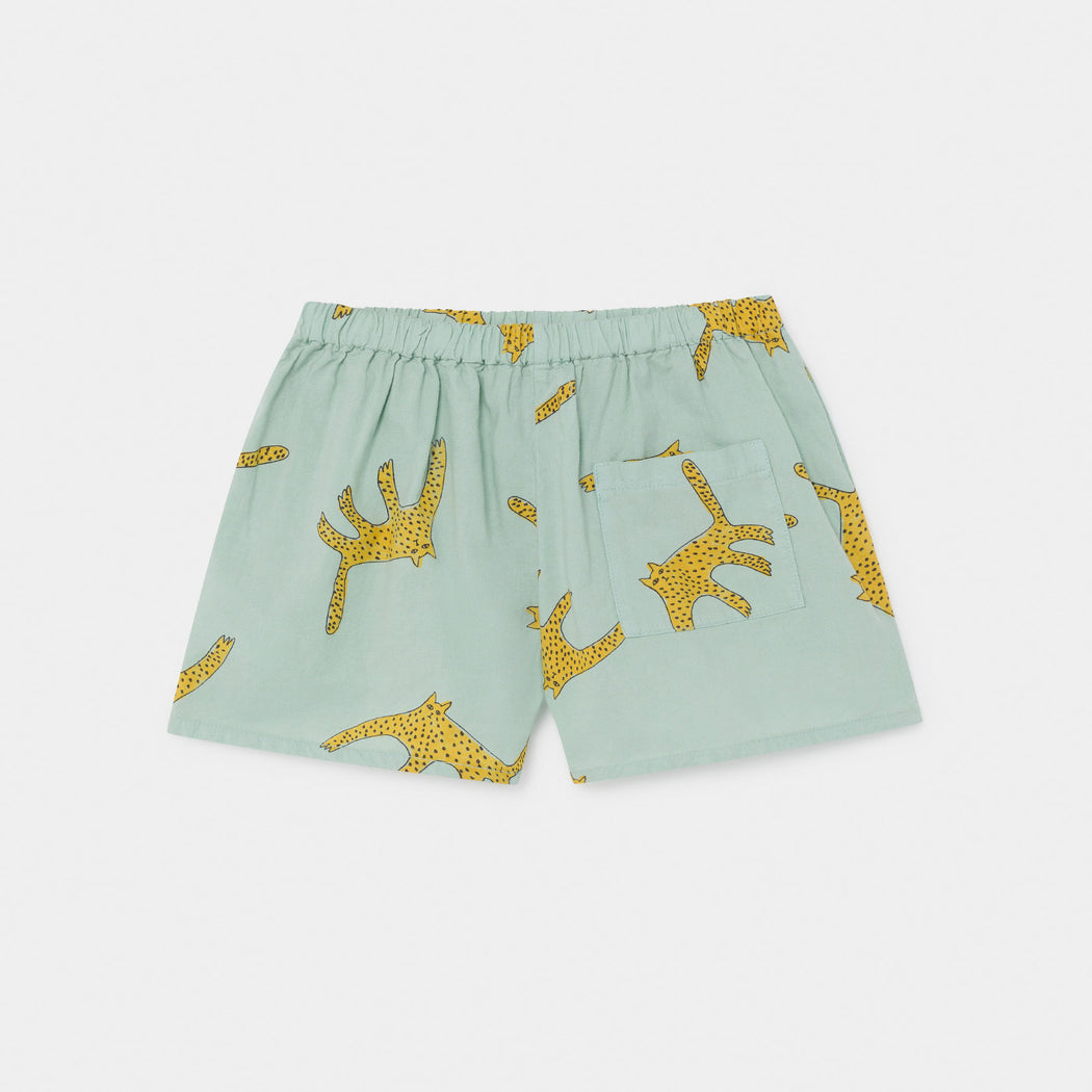 Leopards Woven Shorts