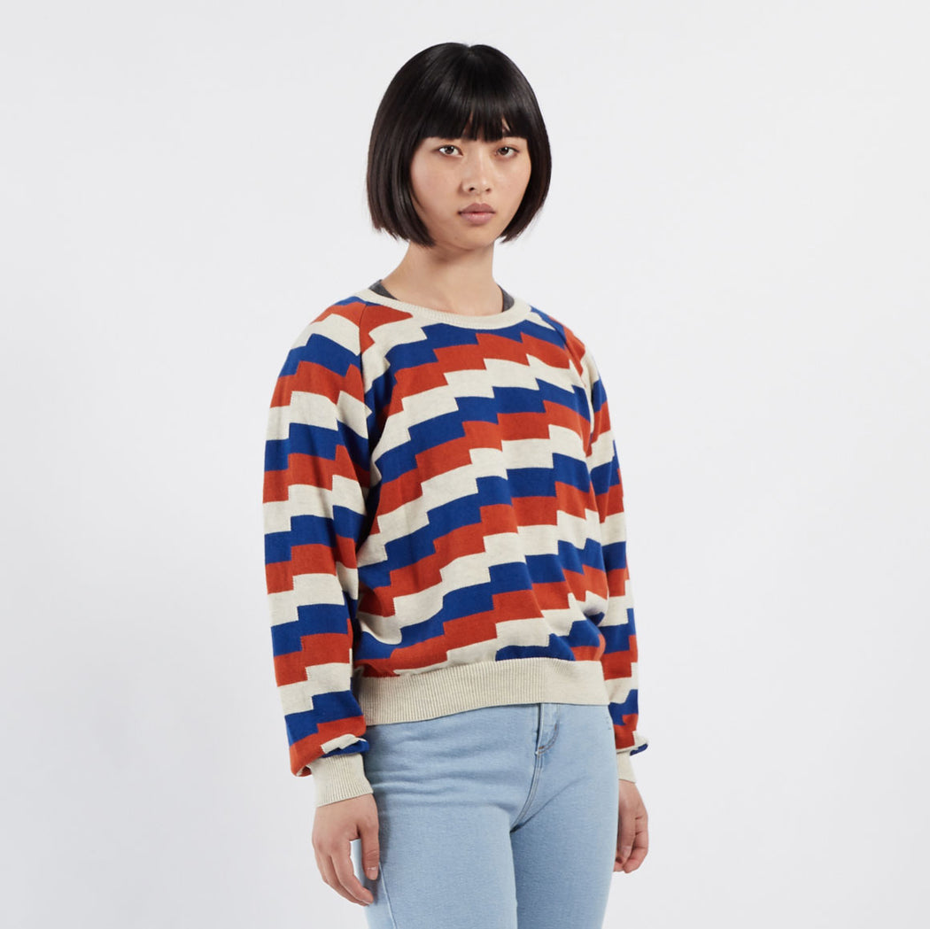 Geometric Knitted Jumper