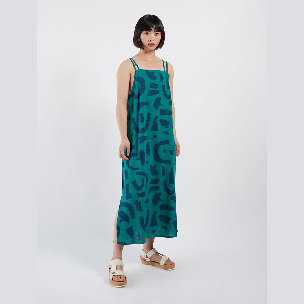 Abstract Tank Dress
