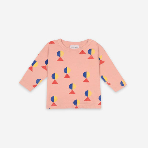 Geometric All Over Long Sleeve T-shirt