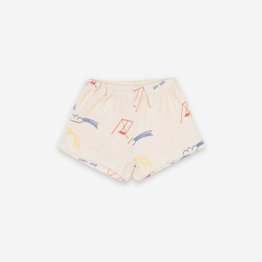 Playground All Over Terry Fleece Shorts