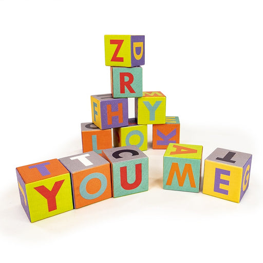 Me & You Alphabet Blocks