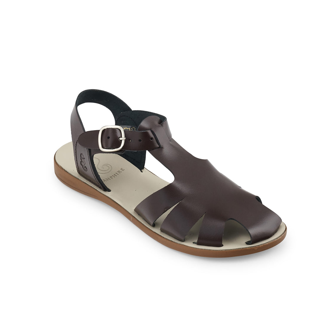 Brown Closed Toe Sandals