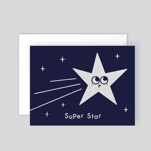 Super Star Mini Foiled Card