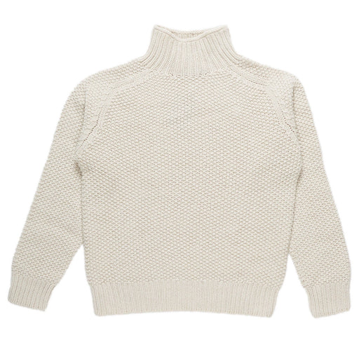 Ecru Moss Stitch Women's Jumper