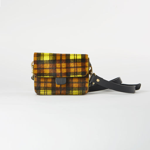 Horsy Tartan Mini Belt/Crossbody Bag