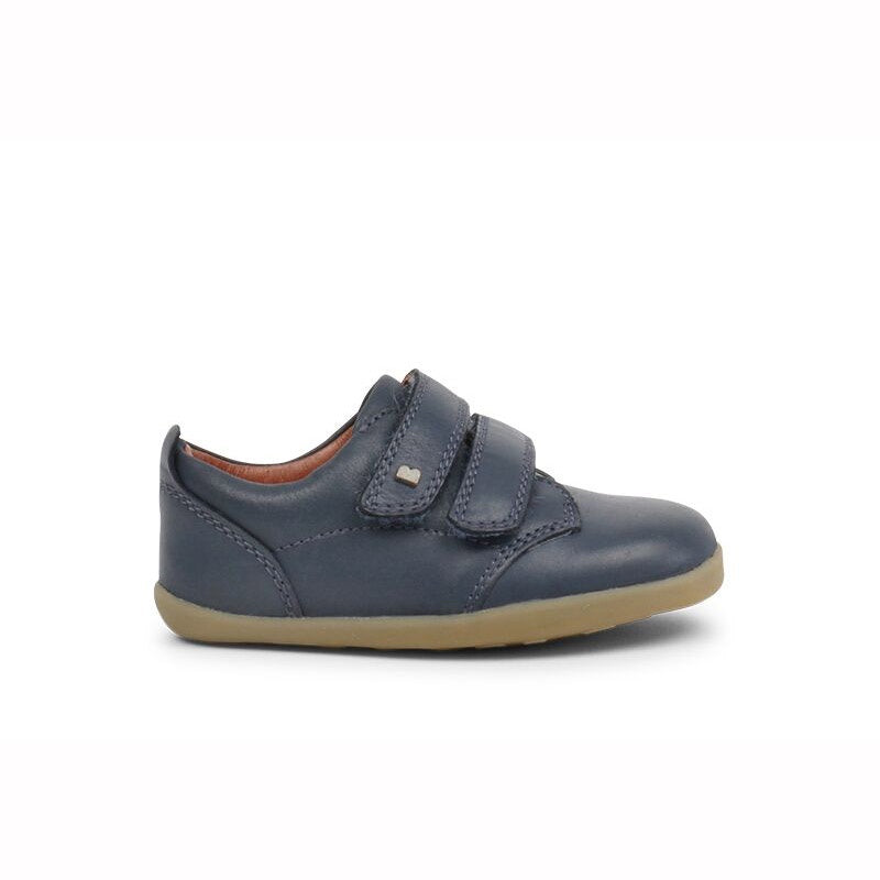 Bobux Navy Step Up Velcro Shoes