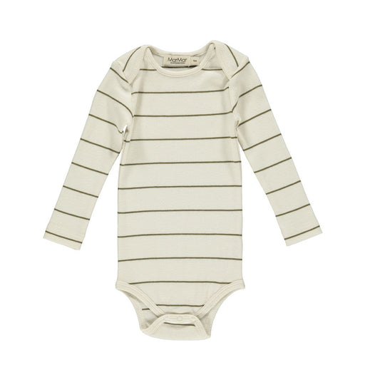 Olive Stripe Long Sleeve Body