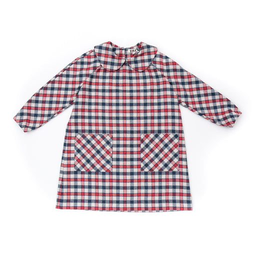 Checked Flannel Kids Dress