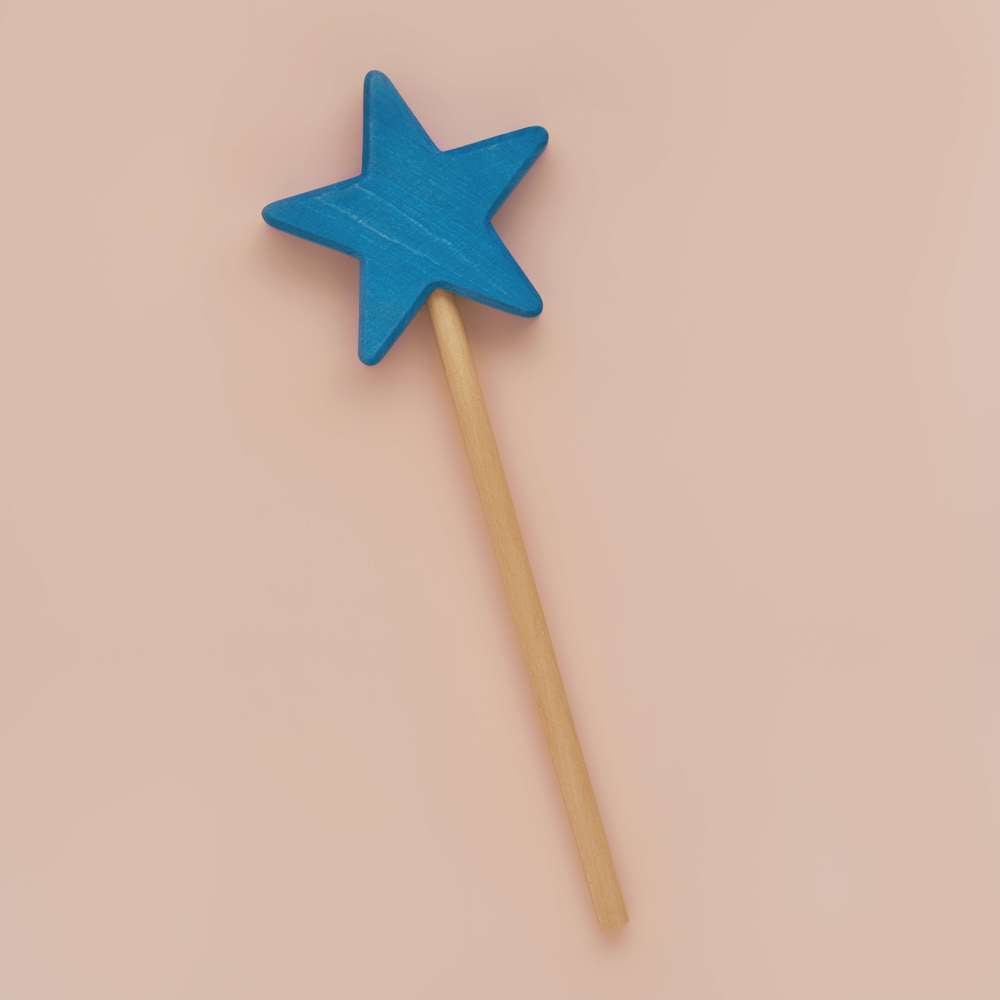 Blue Star Wand