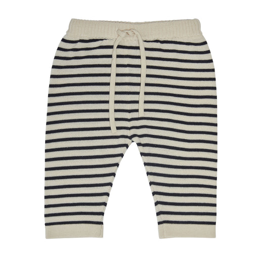 Dark Navy Stripe Baby Trousers