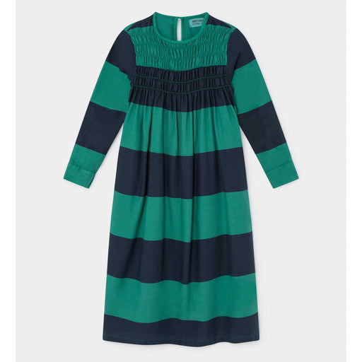 Big Stripes Flounce Dress