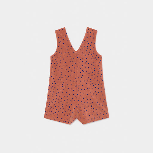 Dots Terry Towel Playsuit