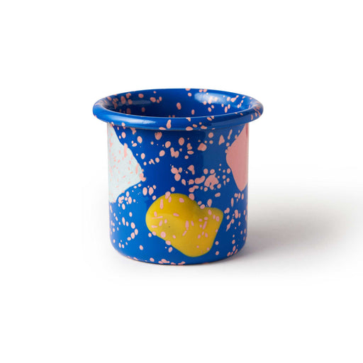 Blue Kids Enamel Cup