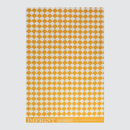 Clamshell Transparent Orange Wrapping Paper