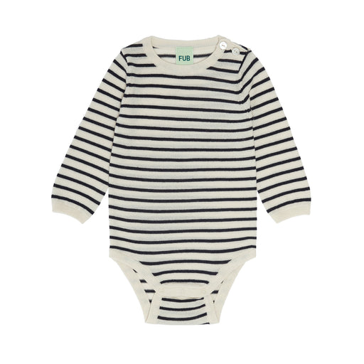 Dark Navy Stripe Baby Body