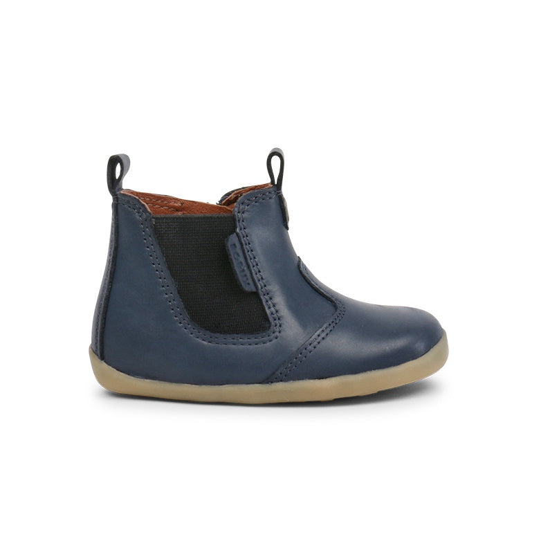 Navy Step Up Jodphur Boot