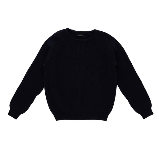 Navy Rib Jumper