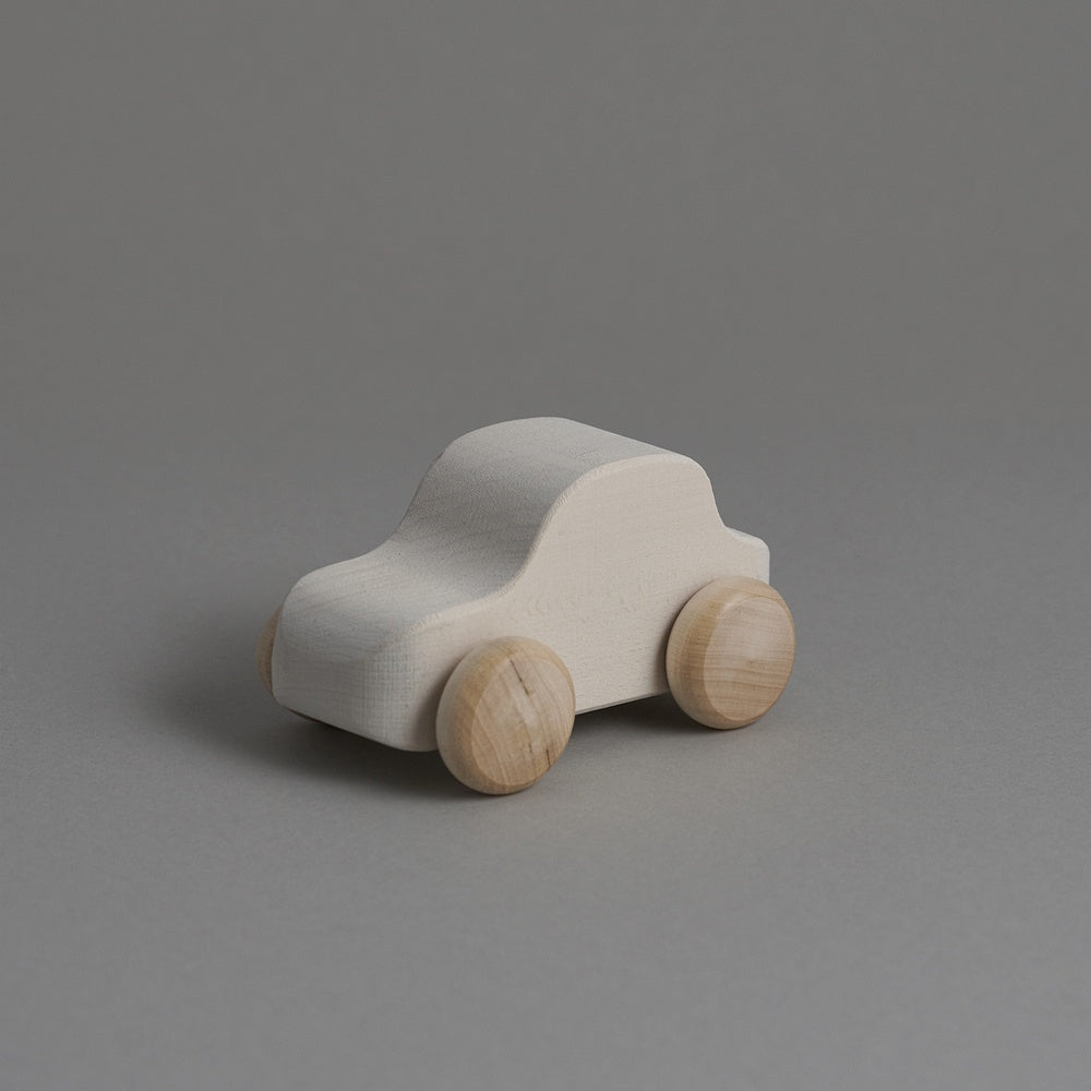 White Toy Car