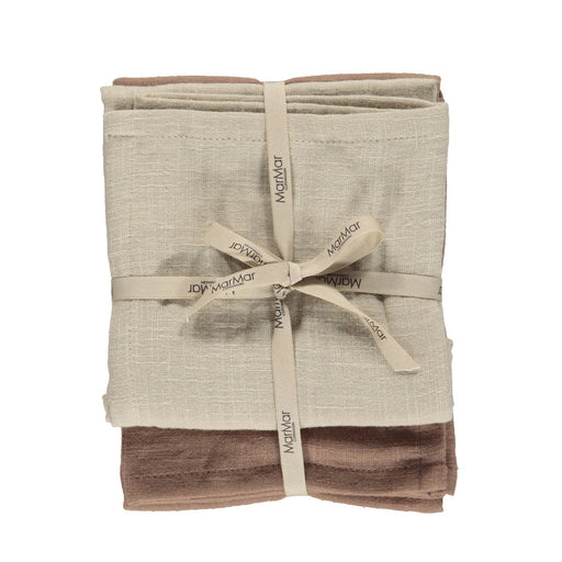 Dusty Pink Organic Muslin Cloth 2 Pack