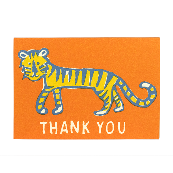 Thank You Little Tiger Card