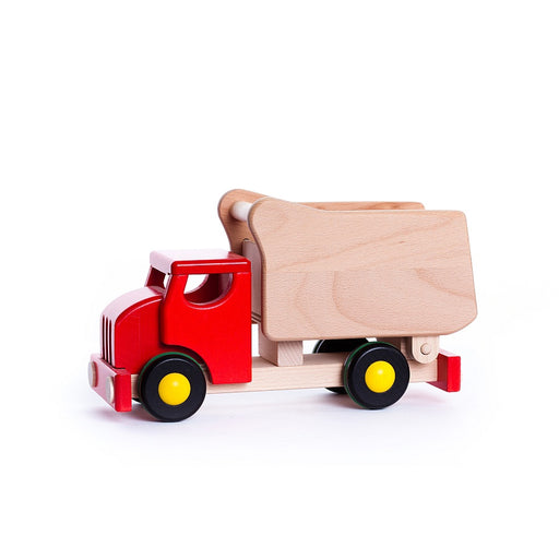 Red Wooden Tipper & Shape Sorter