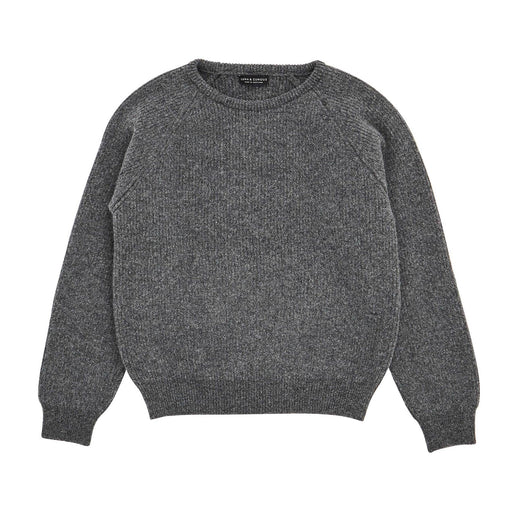 Grey Rib Knit Jumper