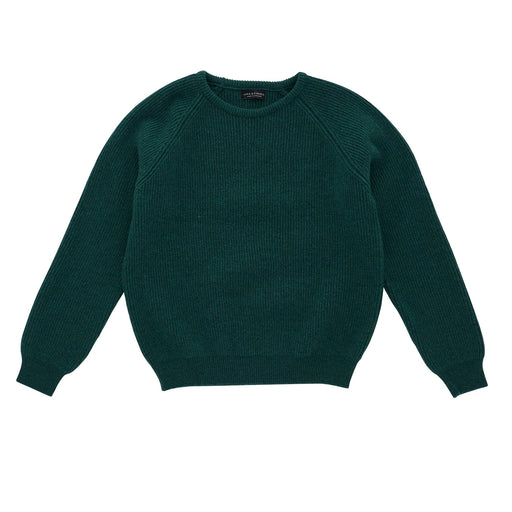 Dark Green Rib Jumper
