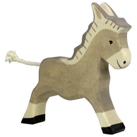 Wooden Running Donkey