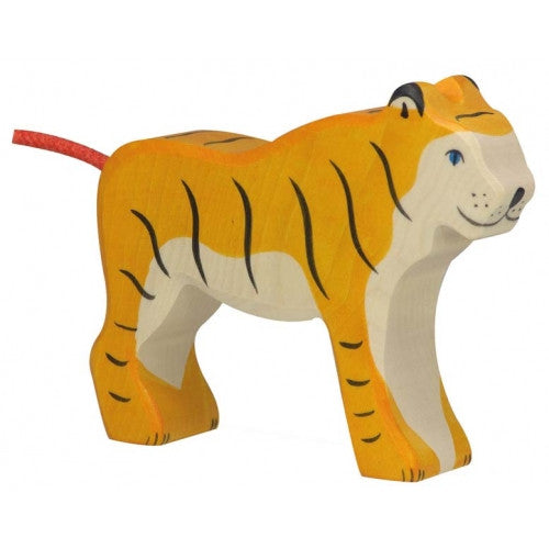 Wooden Standing Tiger