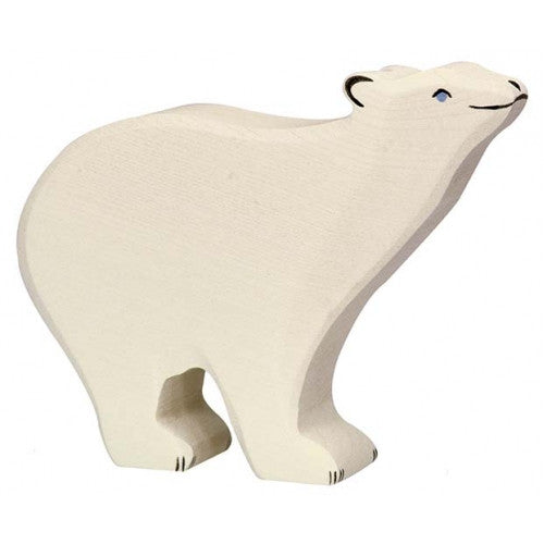 Wooden Polar Bear