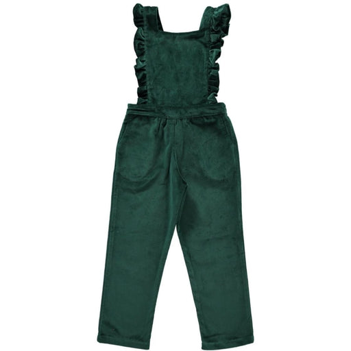 Bottle Green Kids Dungaree