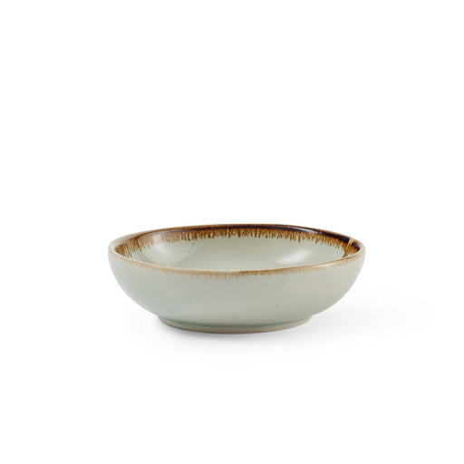 Green Shallow Bowl