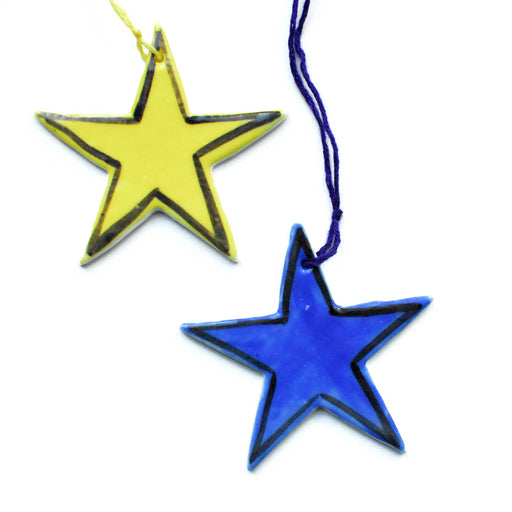 Star Ceramic Decoration